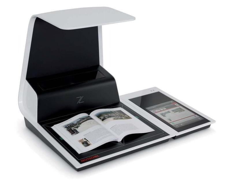 Zeutschel Chrome, Book Scanning solutions